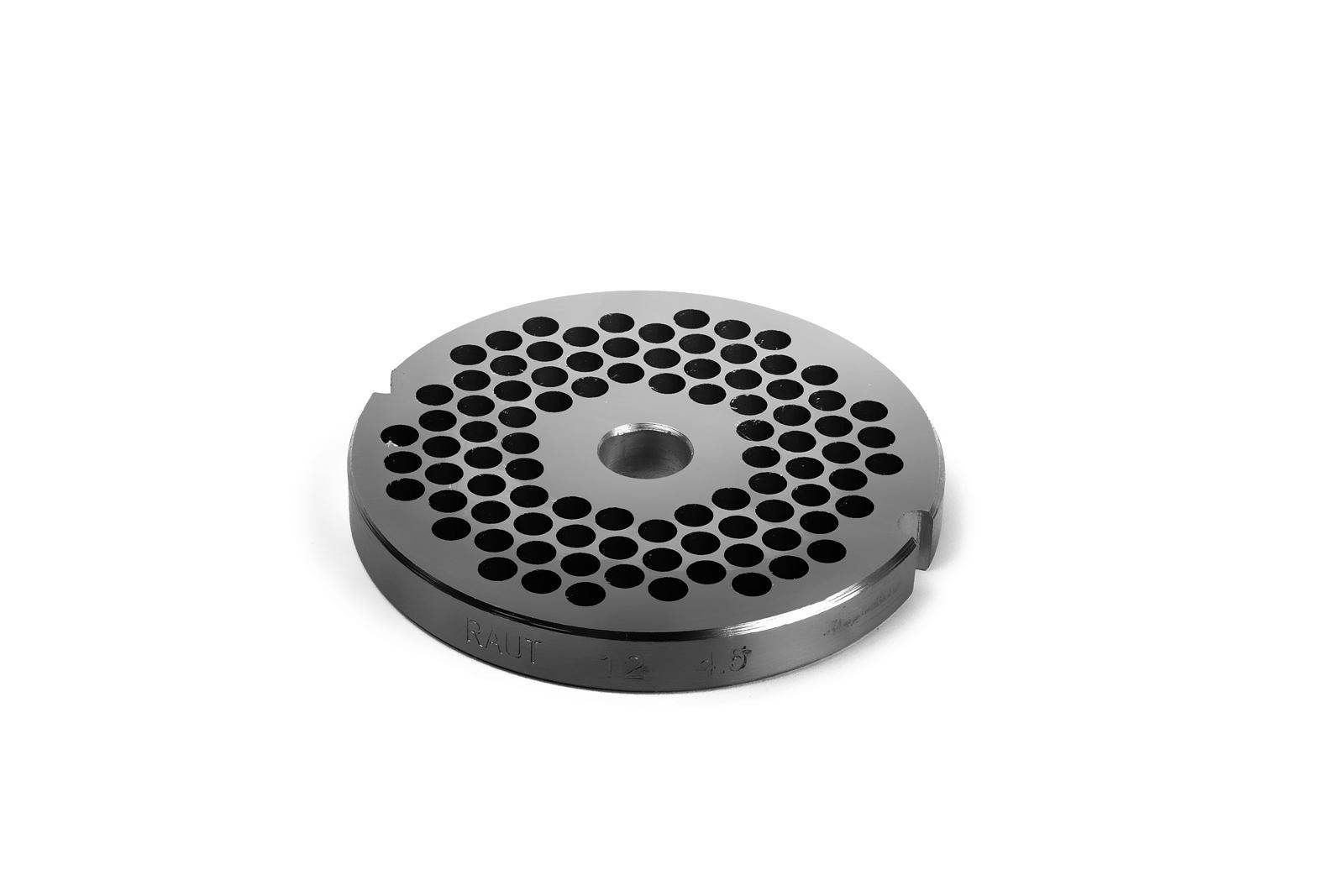 Piastra per Tritacarne 12 - Fori da 4,5 mm - Tre Spade
