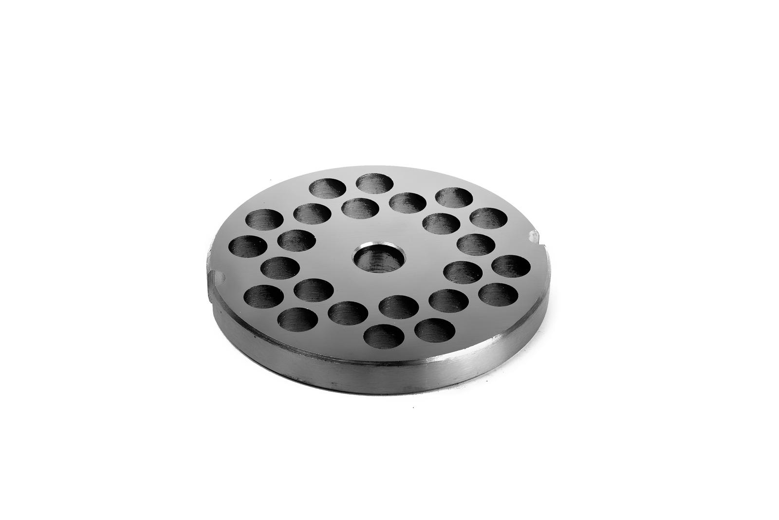 Piastra per Tritacarne 12 - Fori da 8 mm - Tre Spade