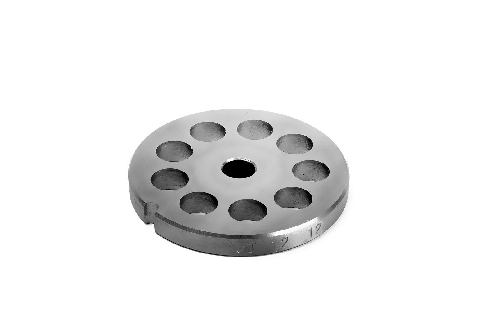 Piastra per Tritacarne 12 - Fori da 12 mm - Tre Spade