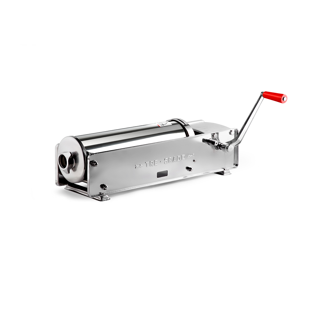 Insaccatrice inox Mod. 10 Deluxe - Tre Spade
